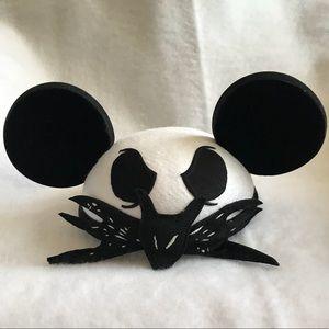 Disney Parks Jack Skellington hat with Mickey ears